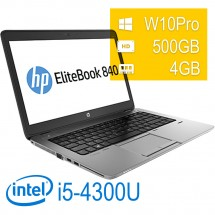 Hp Elitebook 840 G1 I5-4200U/4GB/500/W10PUPD/1Y