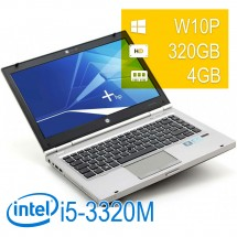 HP Elitebook 8470P - i5-3320M/4/320/14/DVD+RW/W10PUPD/1Y