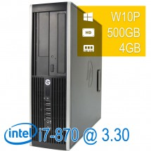 Hp 8100 Elite i7-860/4/500/DVD/W10PUPD/1Y