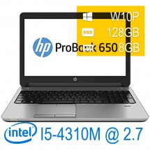Hp EliteBook 650 G1 I5-4310M/8/128SSD/W10PUPD/1Y