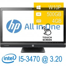 Hp 8300 Elite AIO TOUCH - i5-3470/4/500/DVD/23/W10PUPD/1Y