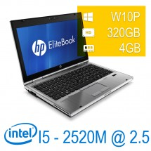 Hp Elitebook 2560P i5-2520M/4/320/DVD/W10P/1Y