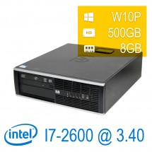 HP 8200 Elite i7-2600/4/500/DVD/W7P/1Y