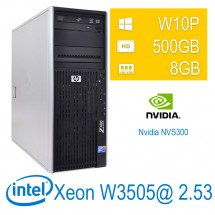 Hp Z400 Workstation - Xeon W3505/8/500/NVS300/W10PUPD/1Y