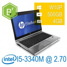 refurB - Hp Elitebook 2570P - i5-3340M/4/500/12,5/W10PUPD/1Y