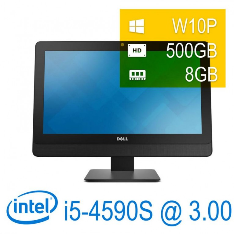 Dell Optiplex 9030 AIO I5-4590S/8/500/DVD-RW/23\'\'/W10P/1Y