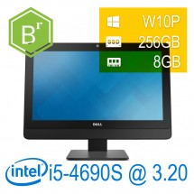 refurB - Dell Optiplex 9030 AIO I5-4690S/8/SSD256/DVD-RW/23''/W10P/1Y