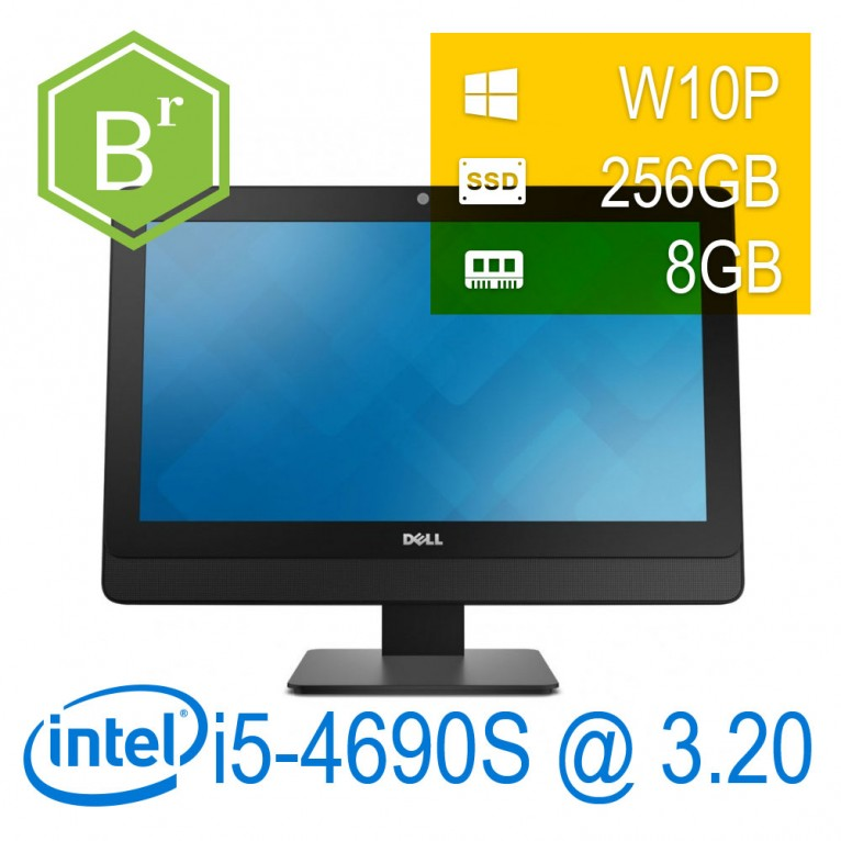 RefurB Dell Optiplex 9030 AIO I5-4690S/8/SSD256/DVD-RW/23''/W10P/1Y