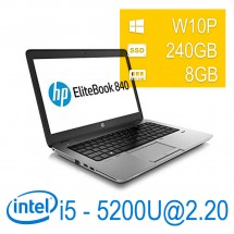 Hp Elitebook 840 G2 I5-5200U/8/SSD240/14/W10PUPD/1Y