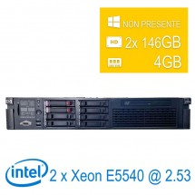 Server HP Proliant DL380 G6 2U 2 x Intel Xeon E5540/4/2x146GB/DVD/1Y