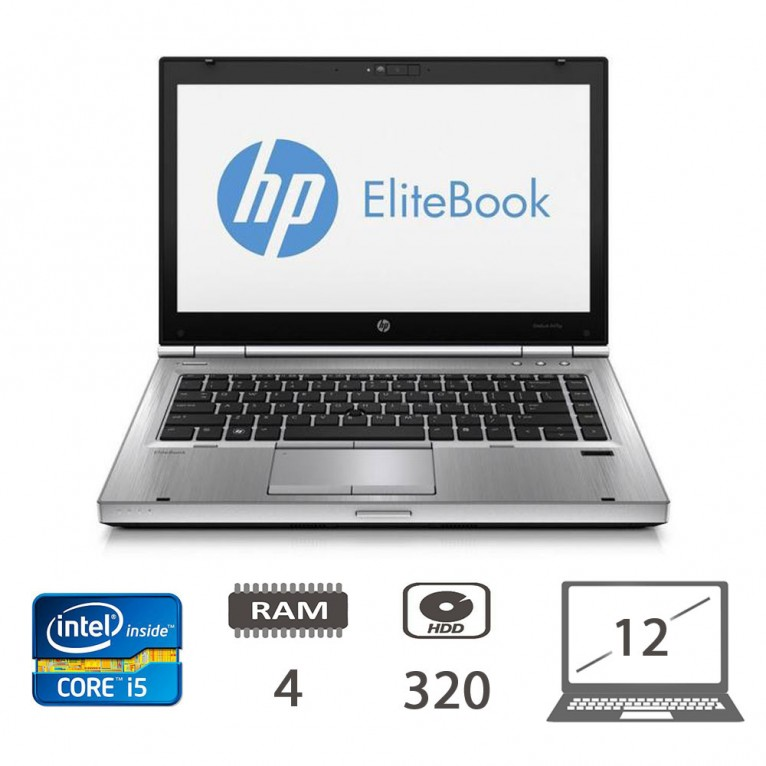 Hp Elitebook 2560P i5-2520M/4/320/W10PUPD/1Y