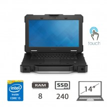 Dell Latitude 7414 Rugged - i5-6300U/8/SSD240/14/DVD/W10P/1Y
