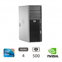 HP Hp Z400 Workstation - Xeon W3503/4/500/QFX580/W10PUPD/1Y