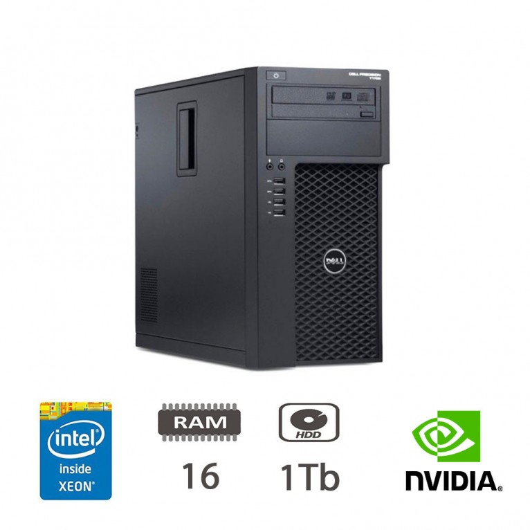 Dell Precision T1700 Workstation - E3-1241v3/16/1TB/NVS300/DVD-RW/W10PUPD/1Y