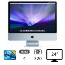 Apple iMac 24 (E08) - Intel Core 2 Duo-E8235/4Gb/Hdd320/Mountain Lion10.8.5