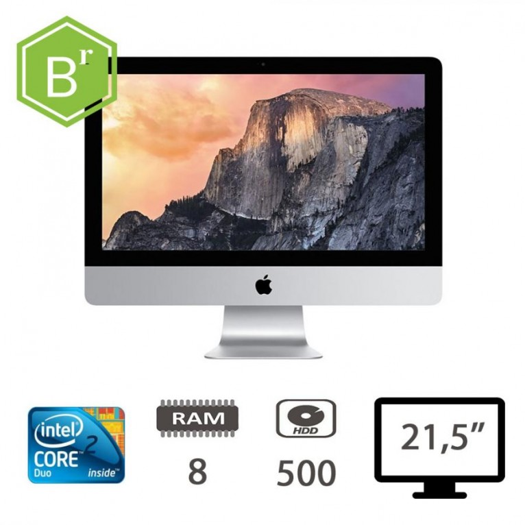 refurB Apple iMac 21,5 (L09) initel Core 2 Duo-E7600/8/500/Sierra 10.13.3