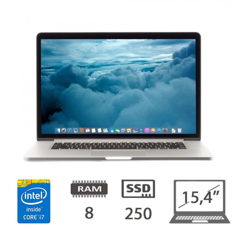 Apple Macbook Pro Retina 15 (L13) - i7-4750HQ/8/SSD250/15,4/1Y