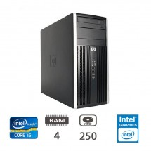 Hp 6200 Pro Micro Tower - i5-2400/4/250/DVD/W10PUPD/1Y