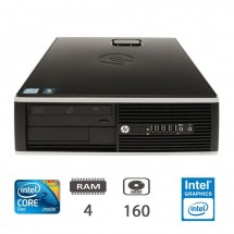 Hp 8000 Elite SFF - E8400/4/160/DVD/FREEDOS/1Y