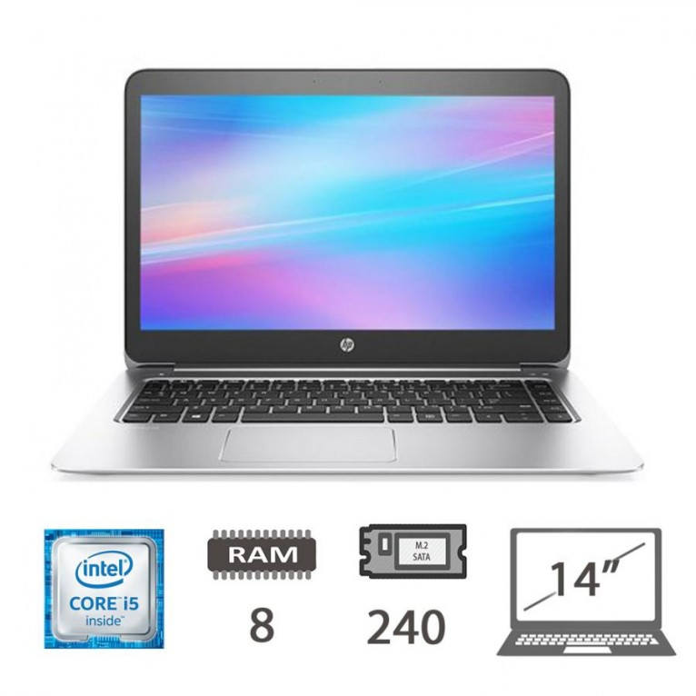 Hp Elitebook Folio 1040 G3 - I5-6300U/8/M2-Sata240/14/W10PUPD/1Y