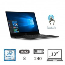 DELL XPS 13 9350 TouchScreen i7-6500U/8/240M2-Sata/13/W10PU/1Y