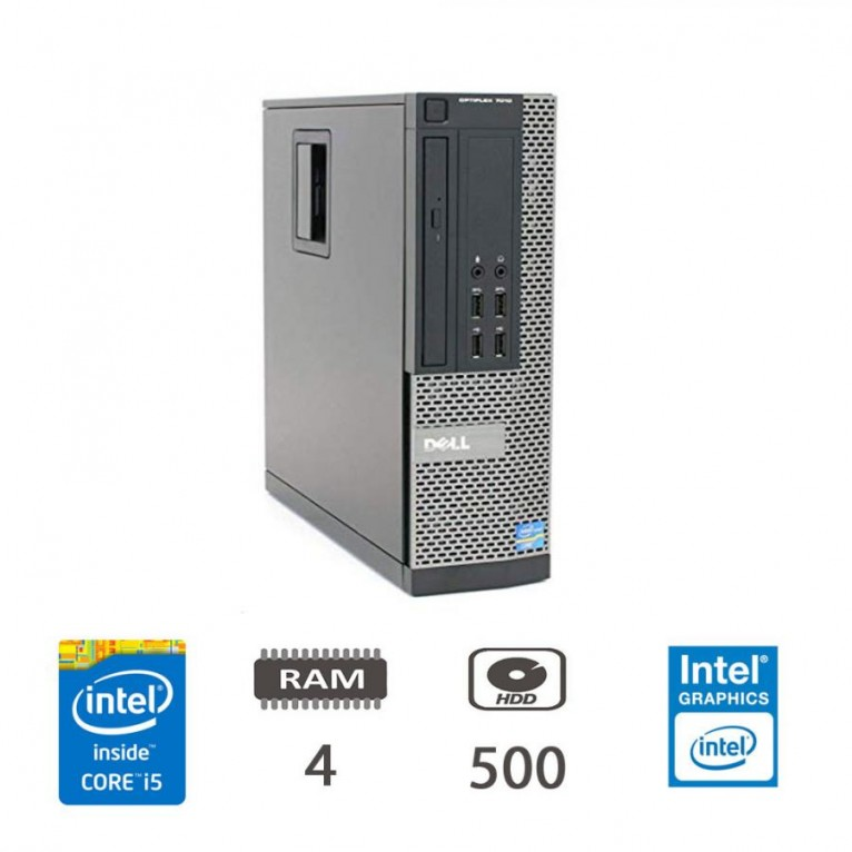 Dell Optiplex 9020 SFF I5-4570/4/500/W10PUPD/1Y
