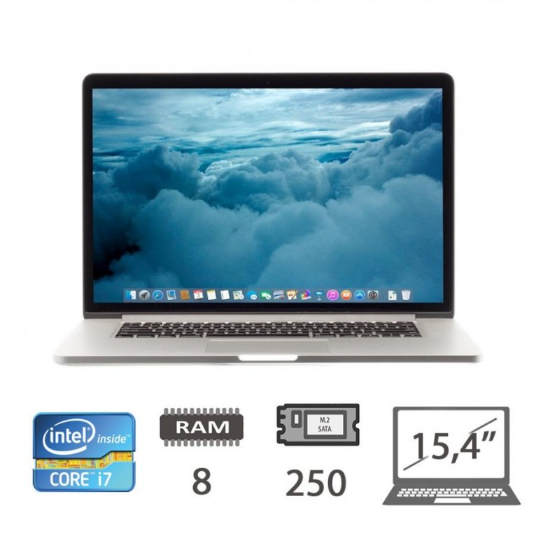 Apple Macbook Pro Retina 15 (M12) - i7-3615QM/8/SSD240/GT650M/1Y
