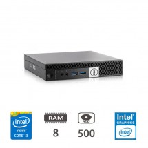 Dell Optiplex 3020 MINI - i3-4130T/8/500/W10PUPD/1Y