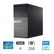 Dell Optiplex 3010 MT - i3-3220/4/250/W10ProUPD/1Y
