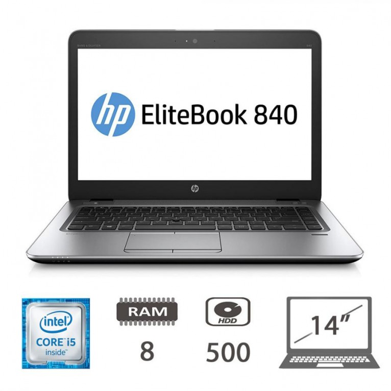 Hp Elitebook 840 G3 I5-6300U/8/500/W10PMAR/TastITA/1Y