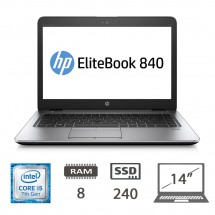 Hp Elitebook 840 G4 - I5-7300U/8/SSD240/14/W10P/1Y