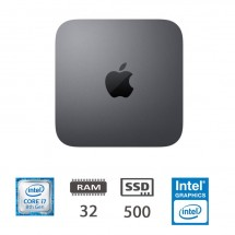 Apple Mac Mini (2018) i7-@3.2Ghz/32/500SSD/MAC OS