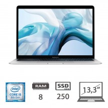 Apple MacBook Air 13,3 (2018)/i5-8210Y-@1.6GHZ/8/250SSD/UHD617/MacOs/Silver - TASTI A-E-S-D-N ROVINATI