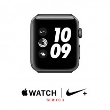 Apple Watch Nike+ Series 3 42mm S Gray Al Anthracite/Black Nike Sport